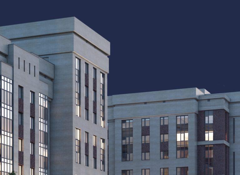 Дизайн корпоративного сайта для строительной компании G-park